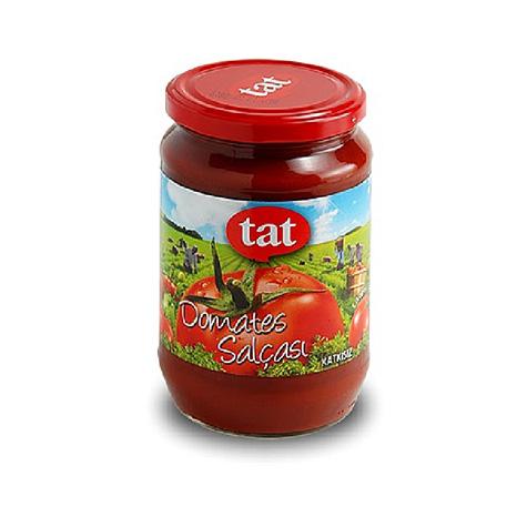 340105 - TAT Tomatpuré, glasburk 12x720 ml
