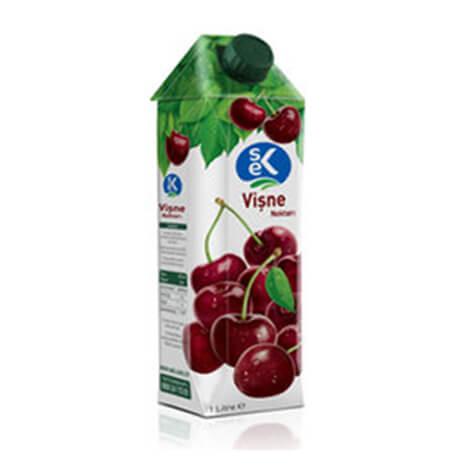 340809 - SEK Körsbär Juice 1 ltx12